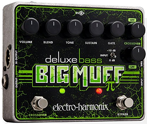 Electro-Harmonix Deluxe Bass Big Muff Pi Bass Effects Pedal (Best Big Muff Pedal)
