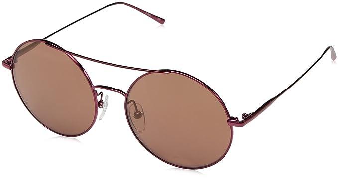 Amazon.com: Calvin Klein ck2156s Ronda anteojos de sol de ...