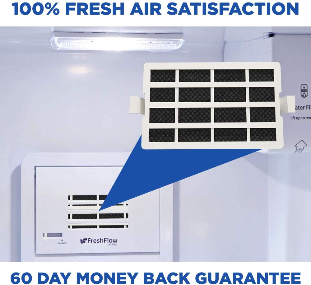 amazon com refresh replacement refrigerator air filter compatible with whirlpool fresh flow w10311524 and air1 1876318 w10315189 fits whirlpool jenn air kitchenaid and maytag 1 pack home kitchen refresh replacement refrigerator air filter compatible with whirlpool fresh flow w10311524 and air1 1876318 w10315189 fits whirlpool jenn air