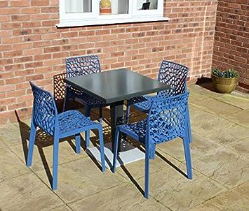 Plastique Salon de jardin pour 4 - de mobilier de jardin avec effet ...