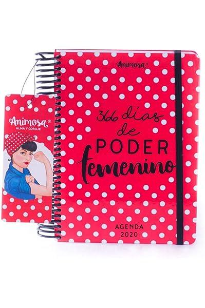 Animosa - Agenda Anual 2020 Poder femenino: Amazon.es ...