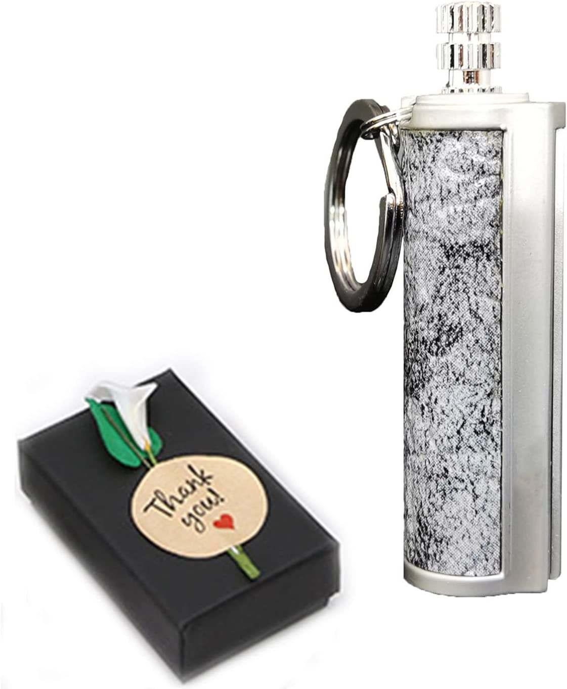 Dragon S Breath Immortal Lighter - Mechero de Queroseno de Palo de fósforo de pedernal Llavero de Metal, Encendedor de Fuego Impermeable, Las Mejores Ideas para Regalos