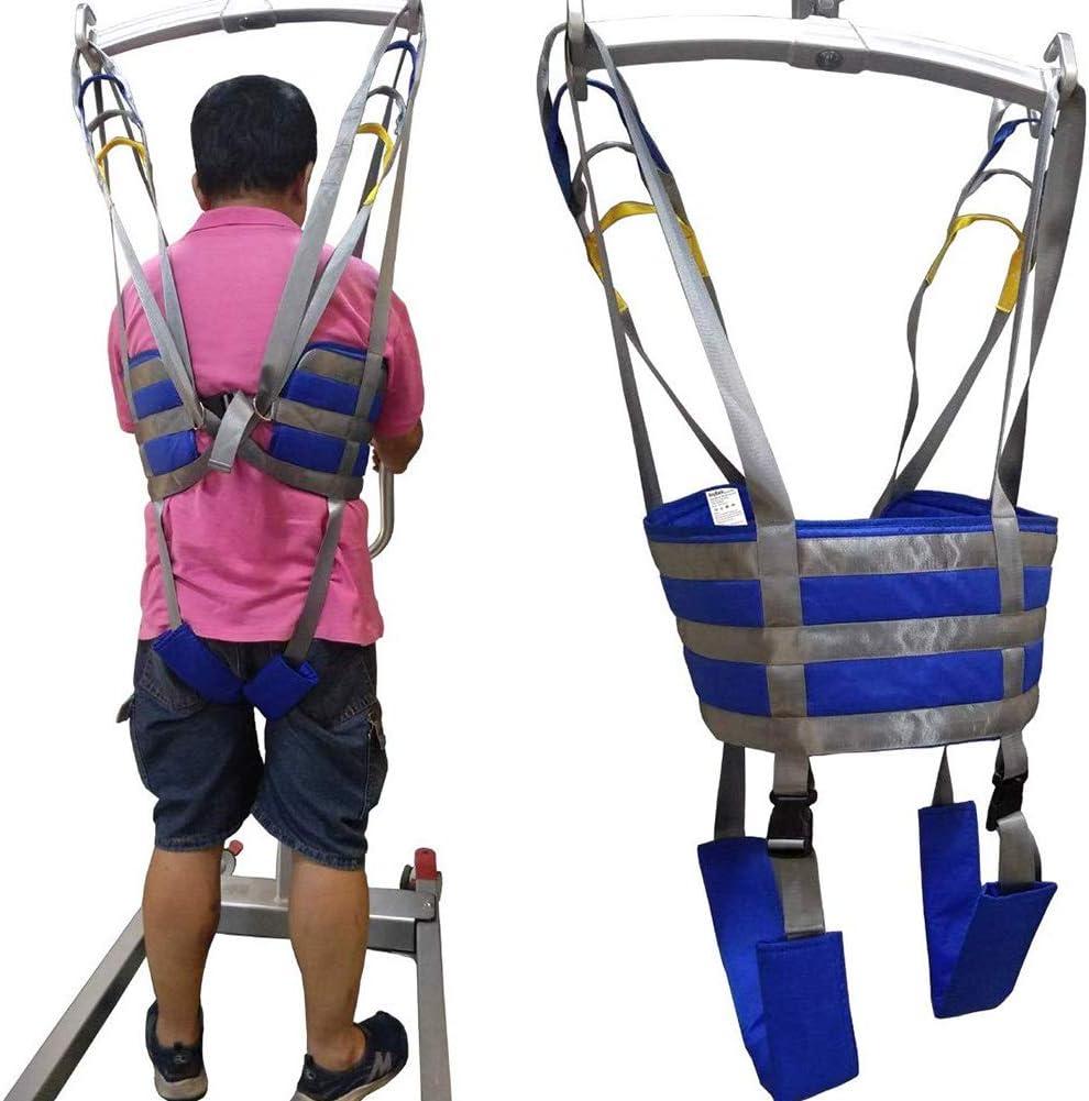 Manejar Médico Cuerpo Completo Paciente Eslingas De Elevación Muslo Cadera Cintura Lumbar Atrás Apoya En Pie SIDA Entrenadores Pierna Ejercicio Con Acolchado Cofre Buffer Gran Cap