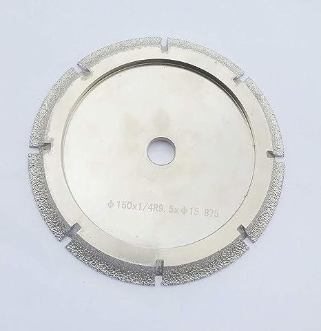 "Radius 6mm 1//4/"" inch Diamond BRAZED Profile Wheel Router Bit Bullnose Marble"