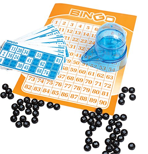 Perfect Life Ideas Portable Car Travel Bingo Game - Bingo Game Kit for Kids Boys Girls Adults Family - Ideal for Bridal Showers Christmas Holidays Parties - Vintage Learning Toy Minii Bingo Set by -