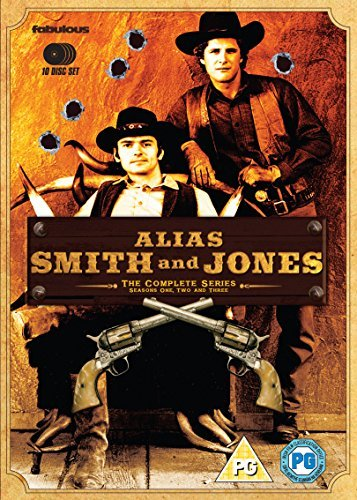 Alias Smith And Jones - The Complete Series (10 Disc Box Set) [DVD] by Ben Murphy B01I06LJ4Q