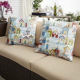 Mozaic AMPS112531 Square Pillow, 16'' x 16'', Multicolor
