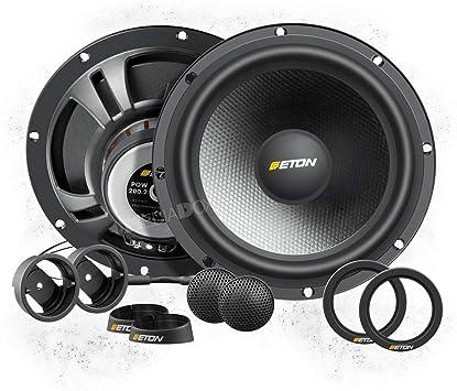 SINUSTEC Front//Heck Auto Lautsprecher Kompo für SEAT Toledo 4 ab 2012 KG