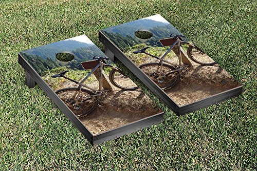 UPC 799493924497, Victory Tailgate Mountain Bike Themed Cornhole Game Set
