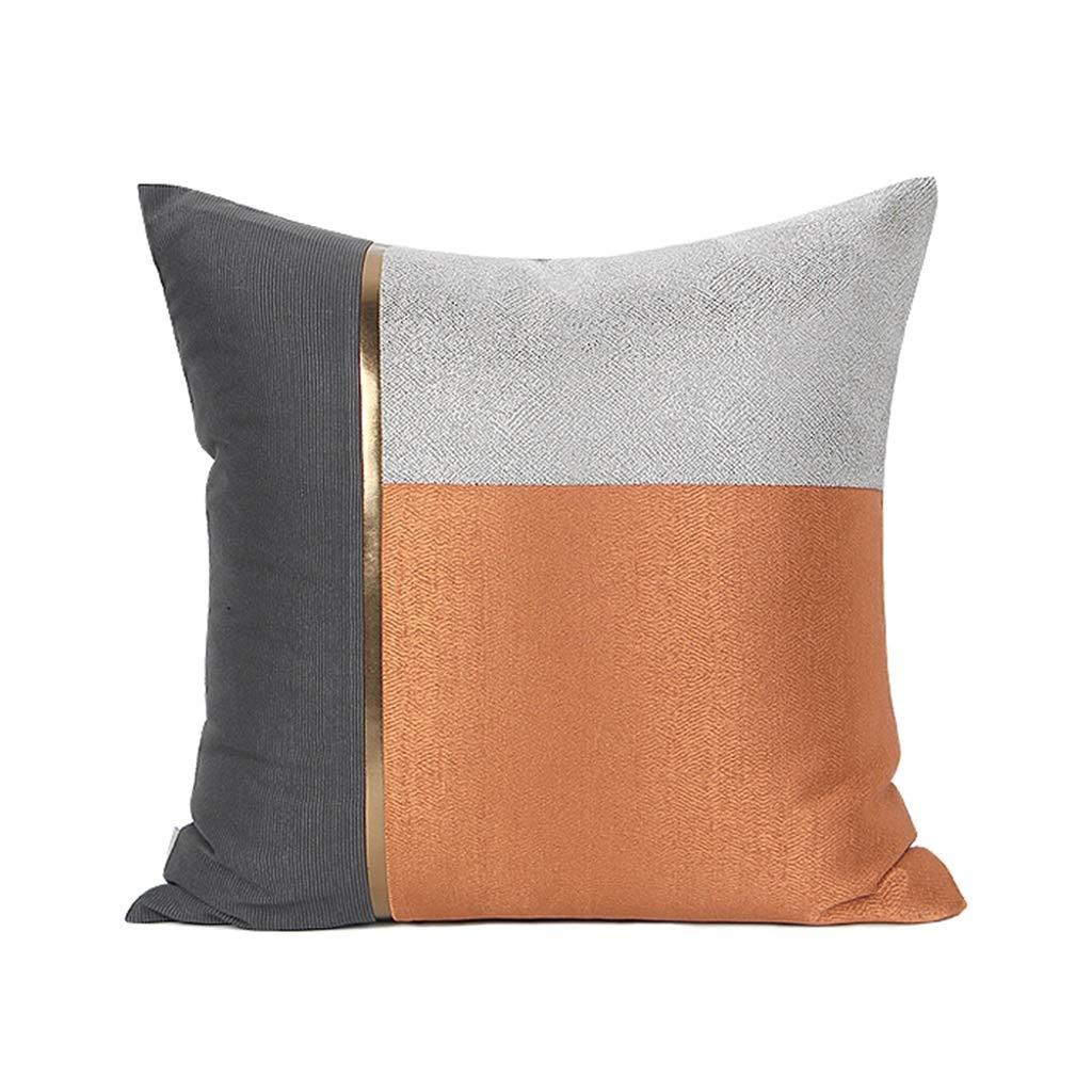 Brilliant firm Cuscino Cuscino Cuscino Arancione Irregolare Moderno Semplice Lusso Soggiorno Cuscino Cuscino Arancione (Colore   arancia, Dimensione   55  55  20cm)