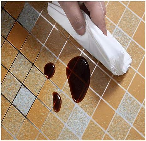 Baño Pegatinas de Pared PVC Mosaico Papel Pintado Cocina ...