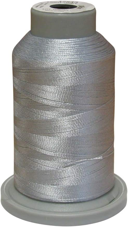 17543 Light Grey Glide Thread Trilobal Polyester No 40-1000m Spool