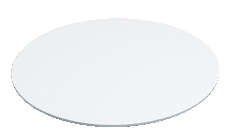 Lékué-Piatto per torta in ceramica, 28 cm, colore: bianco 2