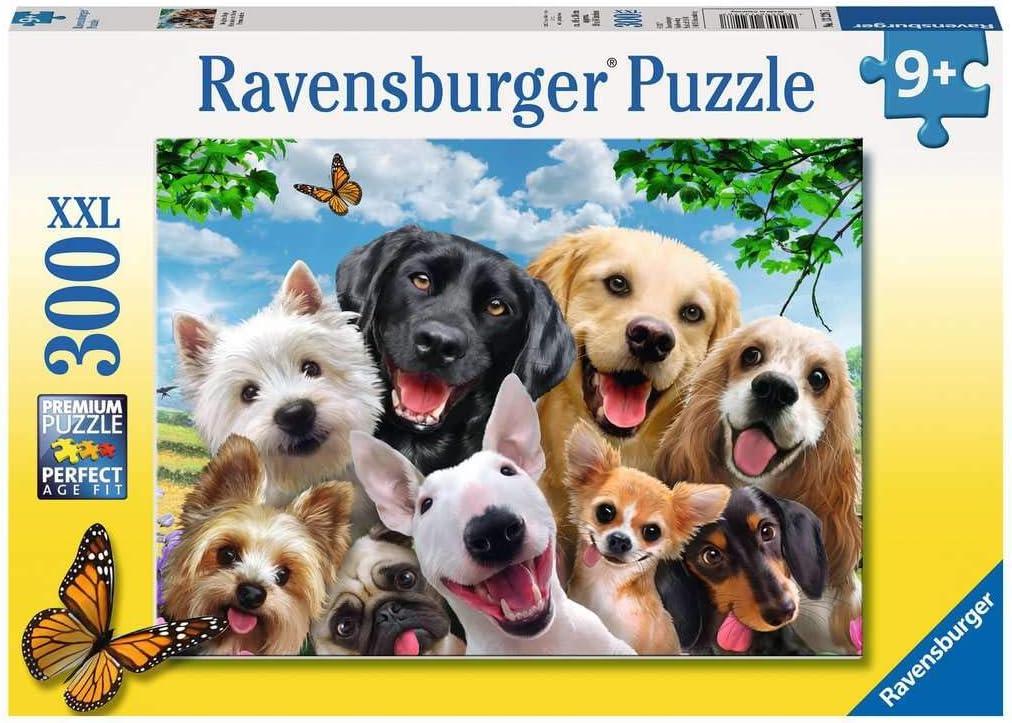 Ravensburger Puzzle Selfie de Perros - Puzzle 300 XXL, 300 piezas, para niños 9+ años (13228)