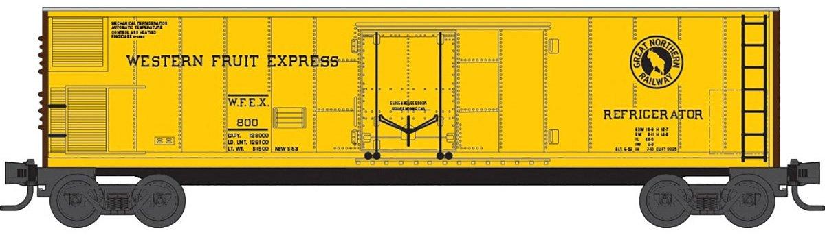 人気ブランドを micro-trains MTL z-scale 51 z-scale ft Mechanical Reefer WesternフルーツExpress 51/ ft WFE # 805 B00WRHB95O, ルミーテック:c0b0d8cd --- a0267596.xsph.ru