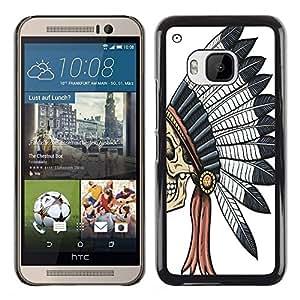 Dragon Case - FOR HTC One M9 - Bad news has wings - Caja protectora de pl??stico duro de la cubierta Dise?¡Ào Slim Fit