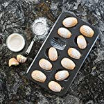 Bellemain 12-Cup Nonstick Madeleine Pan 7 Makes classic French shell-shaped madeleines Heavy-duty carbon steel Conducts heat quickly and evenly