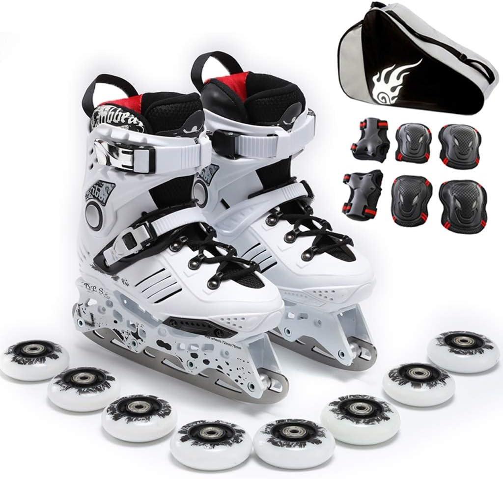 XZ15 男性と女性のためのアダルトインラインスケートアイスナイフの靴、専門のアイスナイフの靴、初心者の学生のローラースケート、二つのモード (Color : #2, Size : EU 41/US 8/UK 7/JP 25.5cm) #2 EU 41/US 8/UK 7/JP 25.5cm