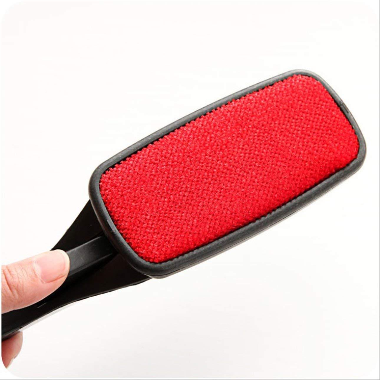 Pudincoco Magic Static Electricity Cloth Fluff Brush Ropa Limpieza electrost/ática Dust Brush Cepillo para el cabello Exfoliante para el cabello