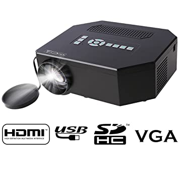 Flylinktech® UC30 Hdmi Portable Mini LED Projector Home Cinema ...