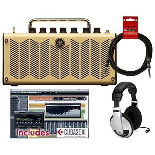 (Yamaha THR5 Stereo Amplifier/Recording Interface/Tuner w/Cubase AL Software, 10' Cable, and Headphones)