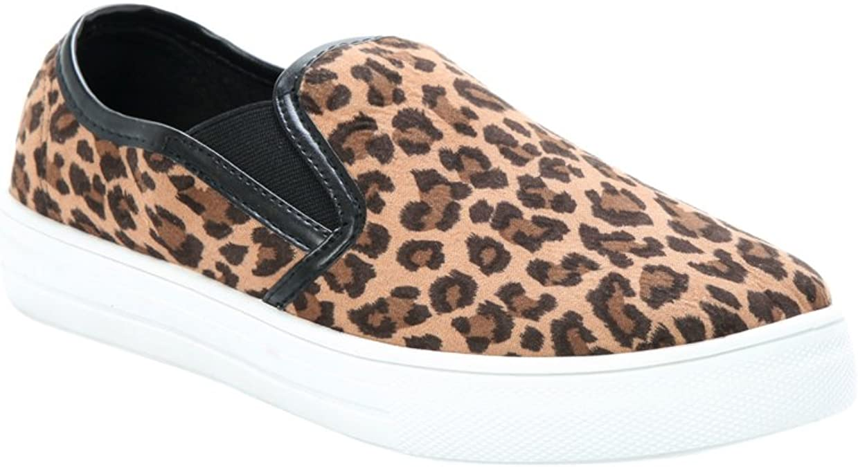 Torrid Leopard Print Slip-On Sneakers