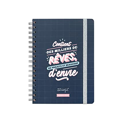 Mr. Wonderful WOA09976FR - Agenda semanal 2020: Amazon.es: Oficina ...