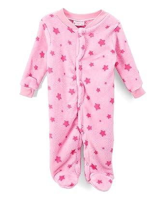Amazon Com Sweet Soft Baby Girls Corak Fleece Sleep N Play With