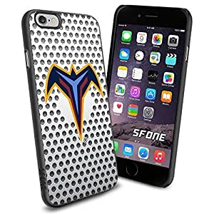 Atlanta Thrashers White Net WADE2225 Hockey iPhone 6 4.7 inch Case Protection Black Rubber Cover Protector