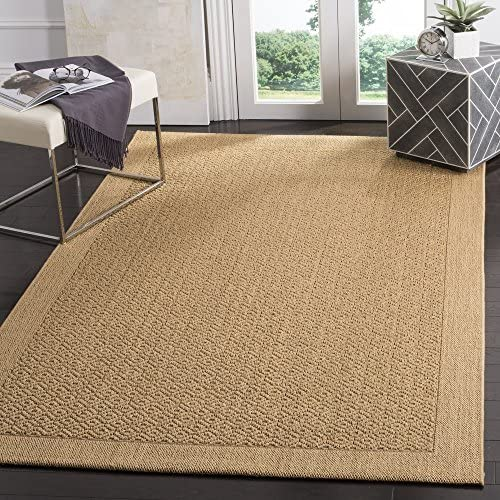 Safavieh Palm Beach Collection PAB355M Maize Sisal Jute Area Rug 2 x 3