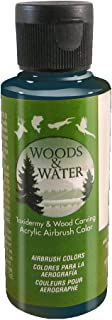product image for Badger Air-Brush Co. 4-Ounce Woods and Water Airbrush Ready Water Based Acrylic Paint, Paynes Gray