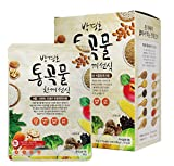 [Dr. MOON] Roasted Multigrain & Vegetables Powder Formulated by Dr. Park, Gyeong-Ho (30g x 10 packets) – 300g/0.66 fl. oz, Meal Replacement, A Good Source of Energy & Protein, Misoot-garoo