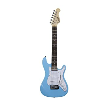 EAGLETONE STC20 Mini guitarra eléctrica, azul