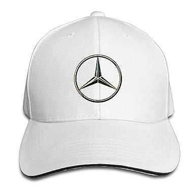 HmkoLo Mercedes Benz Sandwich Gorras de béisbol para Unisex Ajustable - Blanco -: Amazon.es: Ropa y accesorios