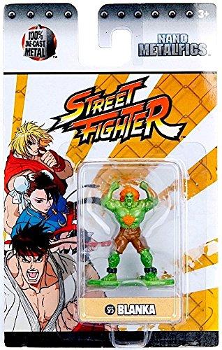 Street Fighter Blanka (SF5) 1.5 Inch Diecast Nano Metal Figure by Jada