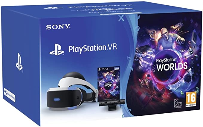 PlayStation 4 (PS4) - Sony CUH-ZVR1 EY VR + Camera + VR Worlds Standard: Amazon.es: Videojuegos