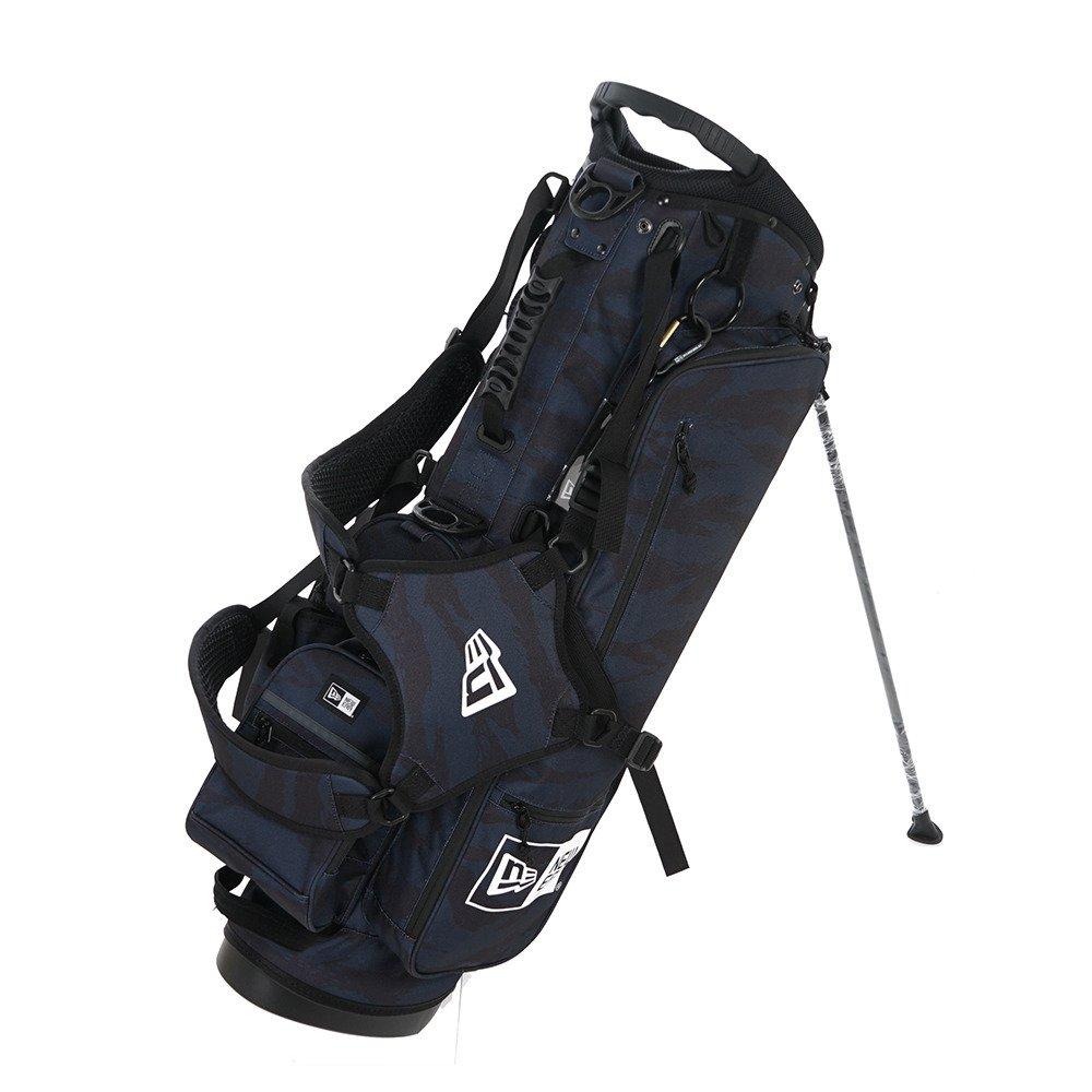 New Era ニューエラ ゴルフ スタンド キャディーバッグ タイガーストライプカモネイビー ブラック ホワイト ホワイト 11404363 B06W2GTJ9Cマルチカラー