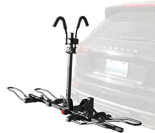 BV 2-Bike Bicycle Hitch Mount Rack Carrier