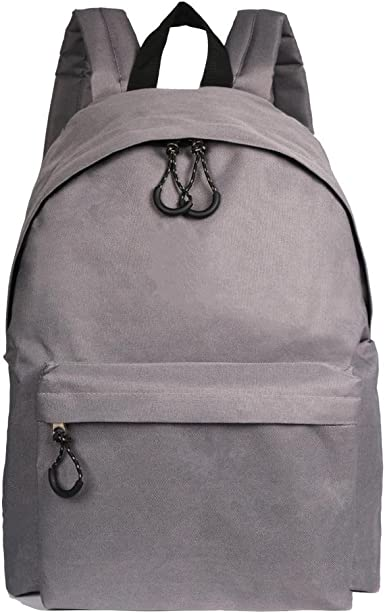 Dellukee Casual Canvas Backpack For Teen Girls Middle School Student Book Bags