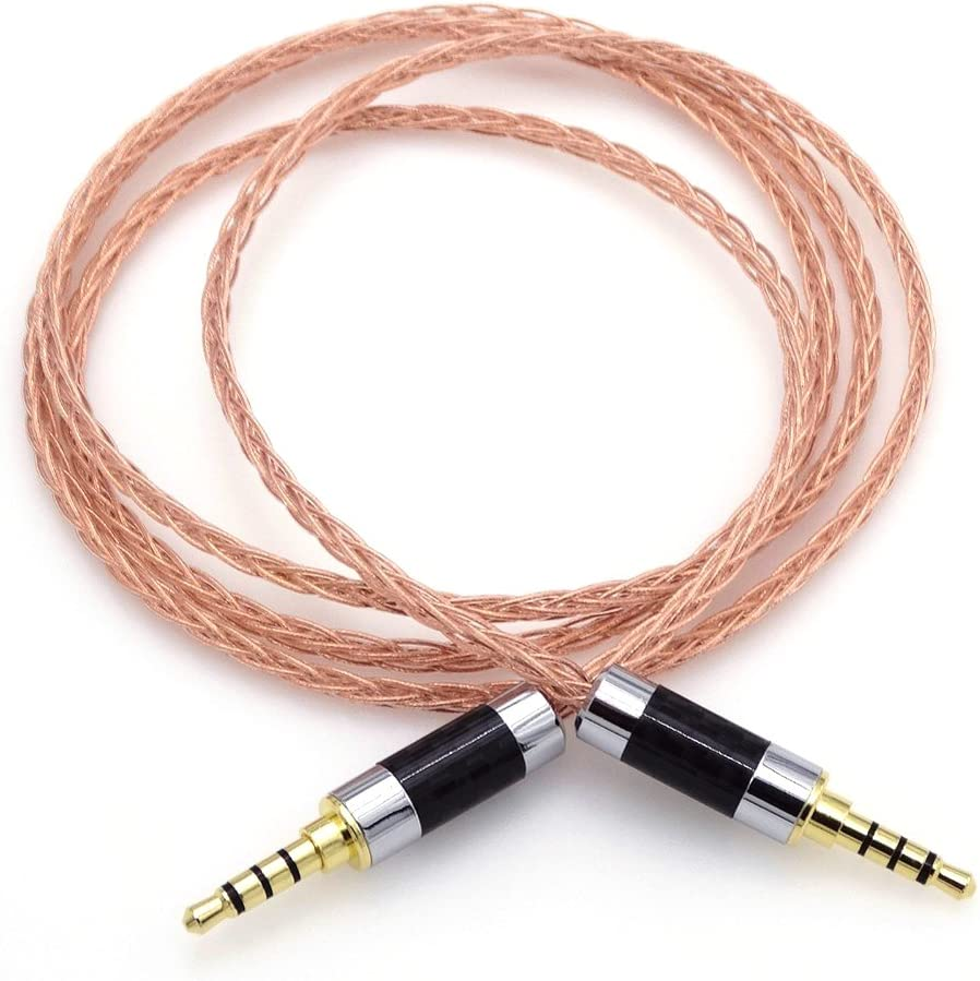 Moon saudio TRRS DE 3,5 mm a 3,5 mm TRRS Audio Adaptador Adapter Upgrade Cable de Auriculares, 3.5 mm AUX Cable alargador de Actualización Cable Adaptador de Audio: Amazon.es: Electrónica