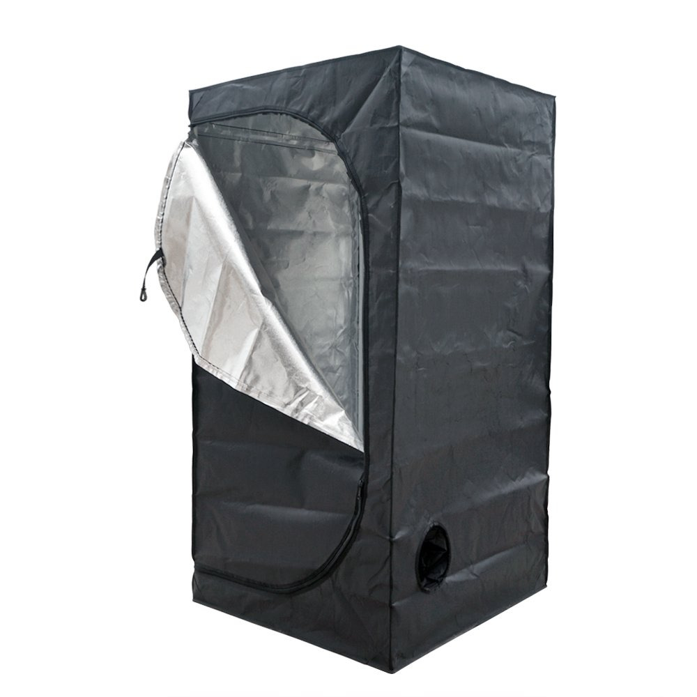 ECO-WORTHY 32''X32''X63'' Mylar Hydroponics Grow Tent for Indoor Plant Growing
