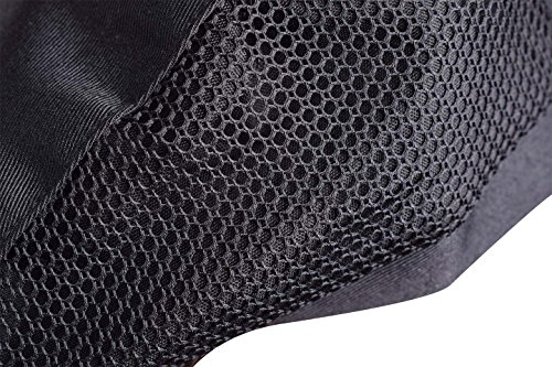 Nanxson(TM 3pcs Chef Flat Beret Pastry Baker Kitchen Summer Mesh Cooking Works Uniforms Chef Hat Adults CF9021 (Black3) by Nanxson (Image #5)