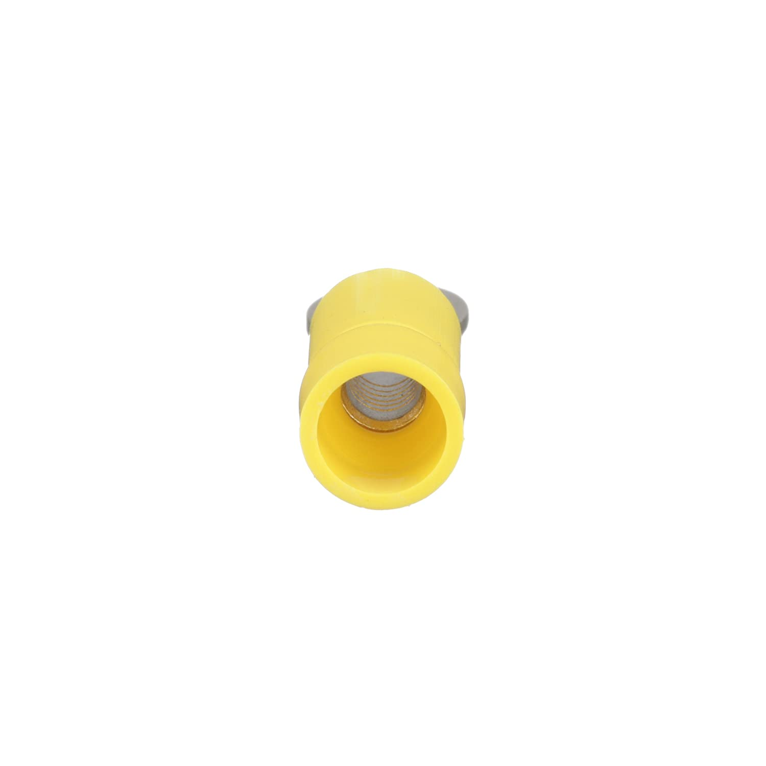 1//4 Stud Size Panduit PV14-14R-M Ring Terminal Vinyl Insulated 1//4 Stud Size Funnel Entry 16-14 AWG