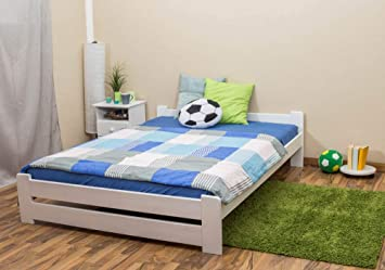 Cama de niño/cama de adolescentes madera de pino maciza ...