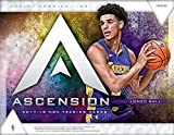 2017-18 Panini Ascension Basketball Hobby Box (12 Packs/5 Cards: 1 Autograph, 2 Rookies, 2 Rookie Variations, 5 Inserts)