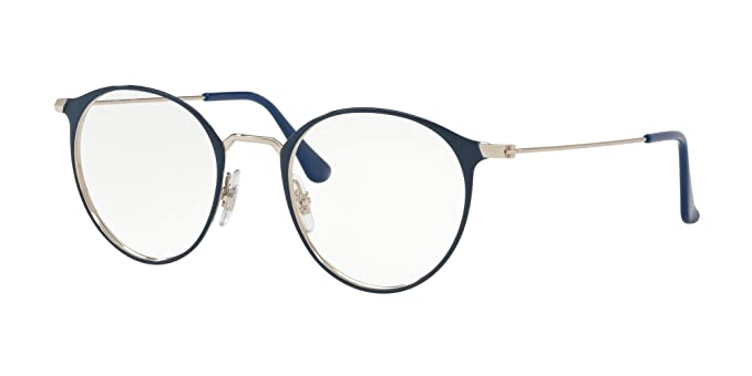 603af00dd8 Image Unavailable. Image not available for. Color  Ray-Ban Unisex RX6378  Eyeglasses ...