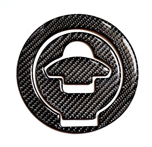 Cyclemods Real Carbon Fiber Gas Cap Cover fit Ducati 848 1099 998 999 Monster 821 & 1200S