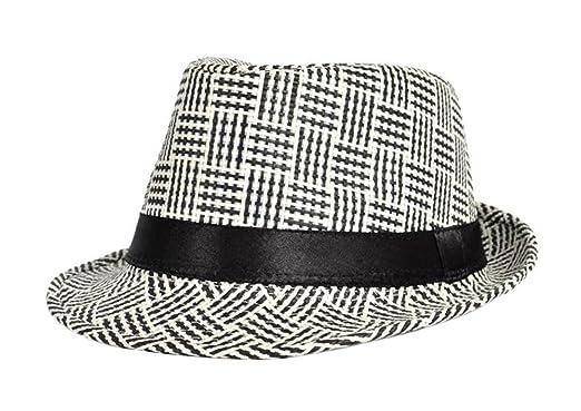 Westeng Panama Straw Hat Mens  Beach Sun Hats Sun Protection Linen Straw  Material Bowler Hats 576277927f8b