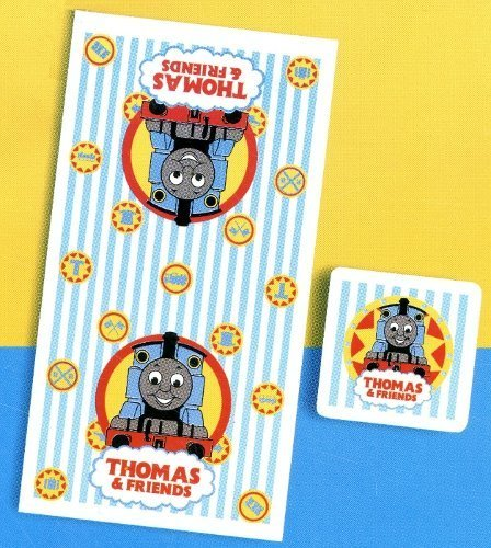 Friends Bath Towel (Thomas the Tank Engine Friends Towel 2-Piece Bath Set)