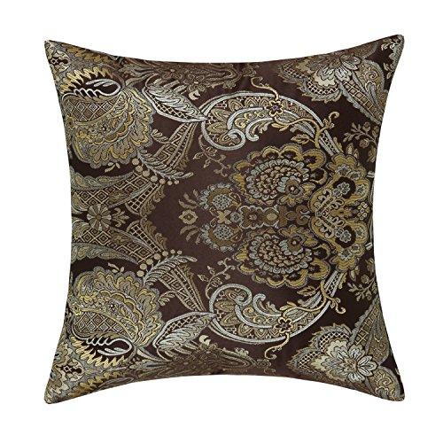 CaliTime Cushion Pillows Vintage Paisley product image